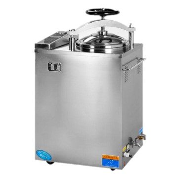 Stainless steel digital display 100l vertical autoclave