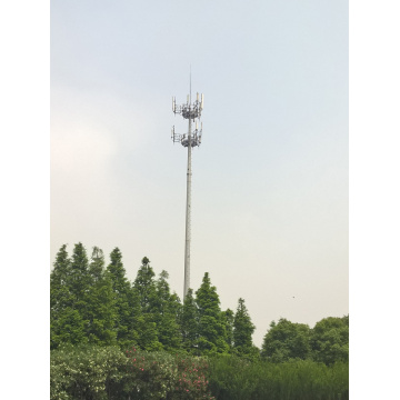 Two Layer Platform Telecom Mast