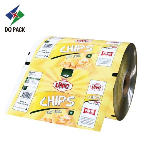Chips flexible packaging film printing roll stock
