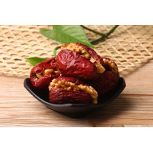 Nature plant red date with walnut kernel