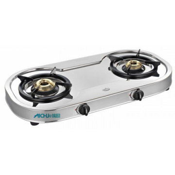 Spectra 2 Burner SS Gas Stove Auto Ignition