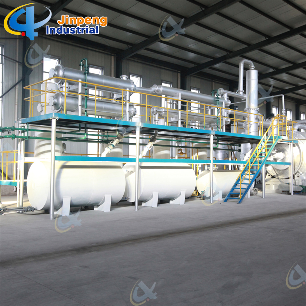 Waste Tyre to Fuel Recycle Machine