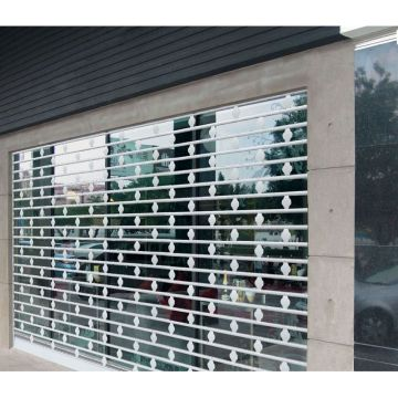 Transparent Crystal Roller Shutter Door