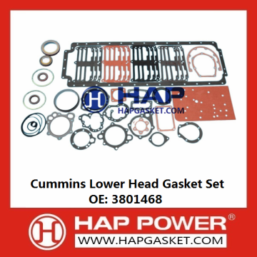 Cummins Lower Head Gasket Set 3801468