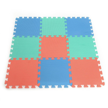Melors Interlocking Floor Tiles Plain Puzzle Mat