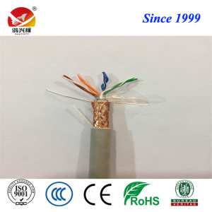 Twisted Conductor and PE Insulation SFTP Cat5e Cable