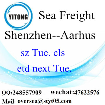 Shenzhen port LCL Consolidation to Aarhus