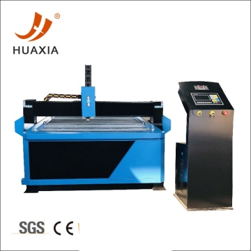 CNC metal plasma cutting machine for small holes
