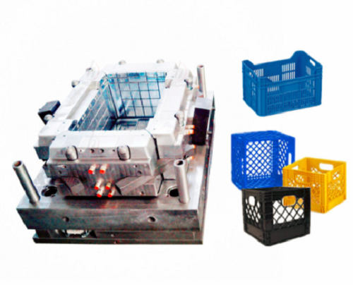 Plastic Crate Injection Mould 1