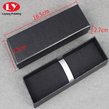 Leatherette paper foam velvet inside box with lid