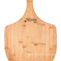 Bamboo Wooden Pizza Peel Paddle - Premium, Organic Bamboo Pizza Spatula Paddle & Cutting Board with Handle [For Pizzas