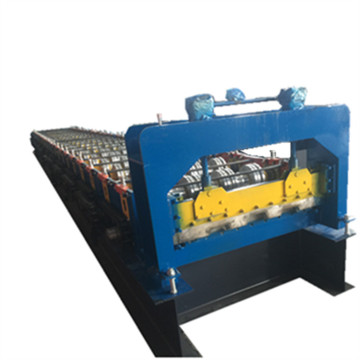 High speed metal floor deck forming machine