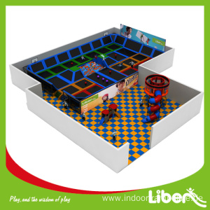 Wholesale Price China for Indoor Trampoline Park Builder Kids trampolines for sale cheap supply to Slovenia Manufacturer