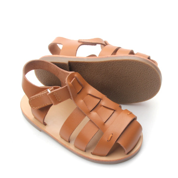 2018 Baby Shoes Summer Leather Baby Sandals