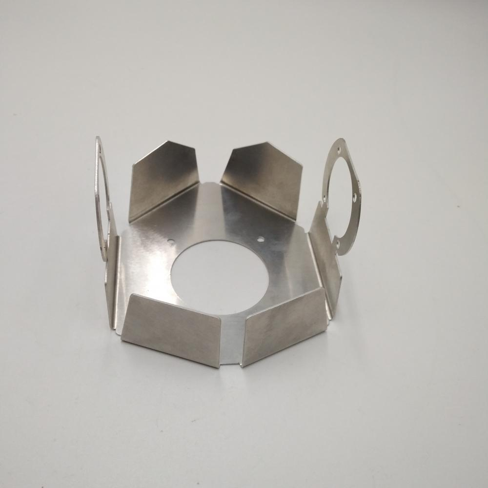 stainless steel copper aluminum bending small metal parts