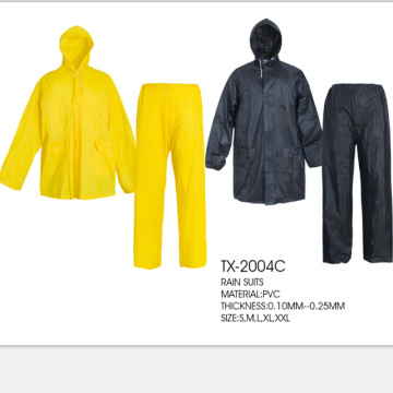 High quality reusable PVC Raincoat for travelling