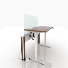 Office desks furniture height adjustable straff tables