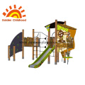 Panel Playhouse Outdoor Playground Equipment For Children