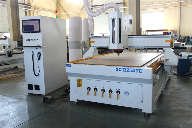 High efficiency Linear ATC CNC Router 1325