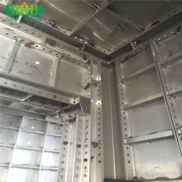 Environmental building aluminium metal construction formwork
