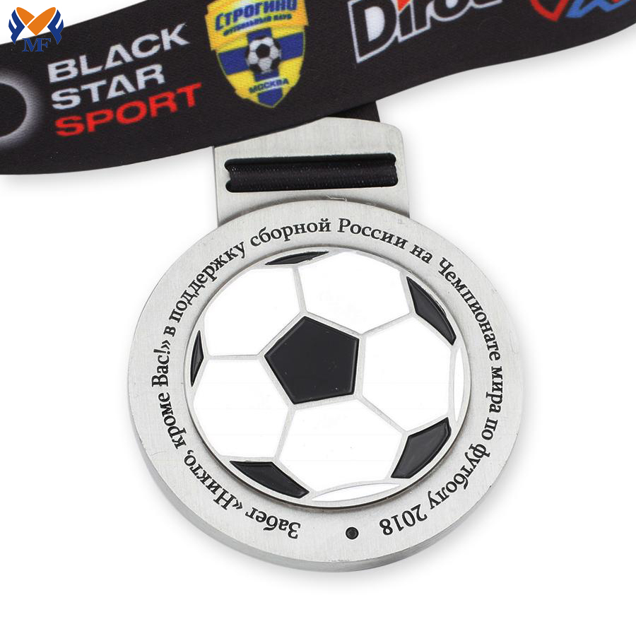 Football Metal Medallions