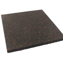 Waterproof residential rubber floor
