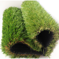 Artificial plastic grass landscaping