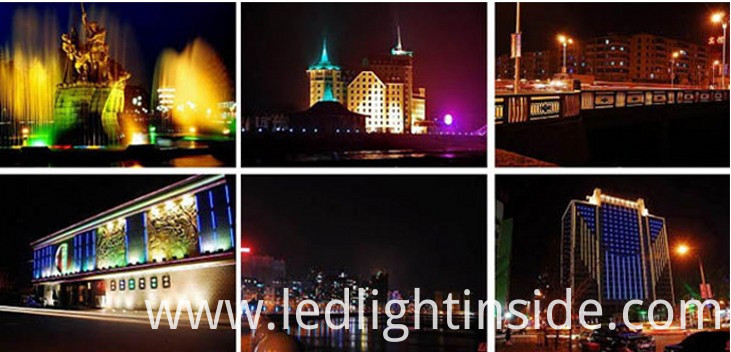100W LED Flood Application