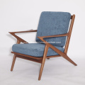 Wooden Frame Fabric Selig Z chairs