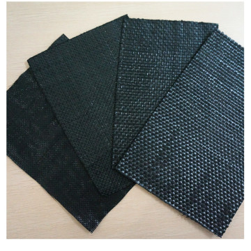 Top for Black Plastic Mulch PP Woven Bag PP Flat Yarn Woven Geotextile supply to Japan Wholesale