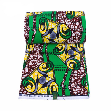 African wax prints fabric for cloth