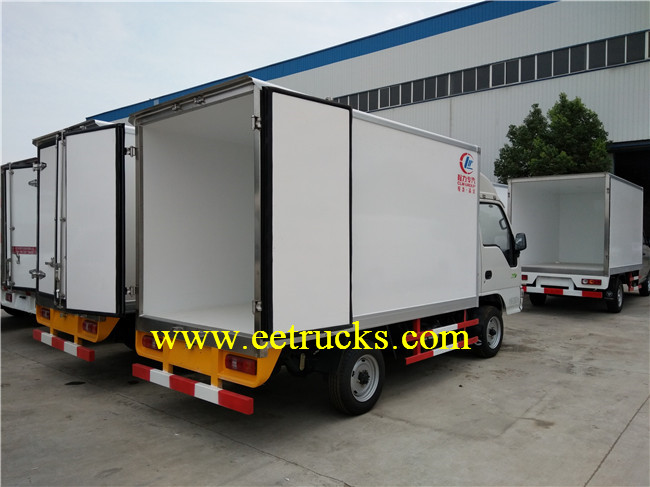 Light Duty Refrigerated Trucks
