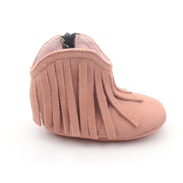Pink Tassle Baby Girl Boots Wholesales