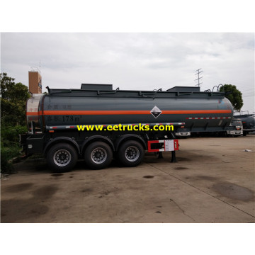 18000L Tri-axle Dilute Sulphuric Acid Transport Trailers