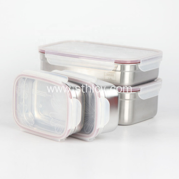 Leakproof Lunch Box 304 Stainless Steel