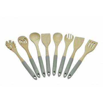 8pcs wooden kitchen tools set