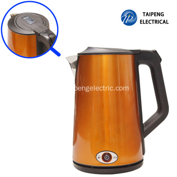 Best Quality for Stainless Steel Electric Tea Kettle Large stainless steel kettle export to Portugal Manufacturers