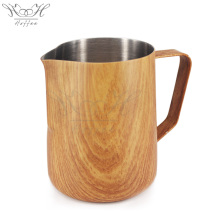 China for Stainless Steel Milk Jug Unique Food Grade Milk Frothing Pitcher Espresso Cup export to France Supplier