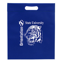 Leading for Non Woven Grocery Bag Die cut non woven bags custom for sale export to St. Helena Wholesale