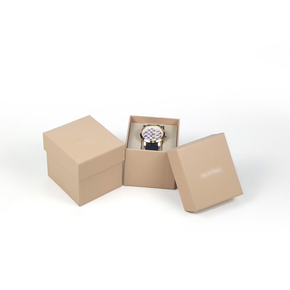 Luxury Watch Paper Packing Box With Insert Holder