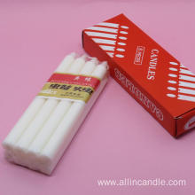 40g white candle 8pcs candle ethiopia candles