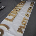 Cut Metal Letters for Business Shop Office