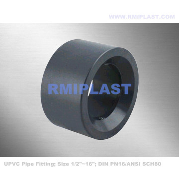 UPVC Bushing Pipe Fitting PN16