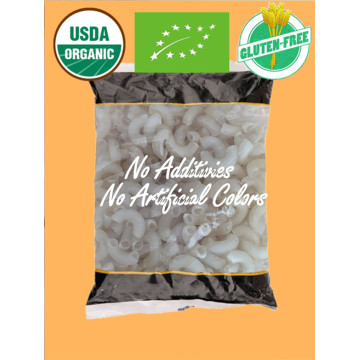 Natural Organic Rice Elbow Pasta