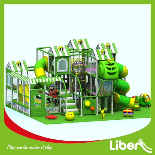 Industrial indoor amusement playground