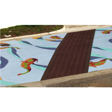 Water permeable adhesive stone Courts Sports Surface Flooring Athletic Running Track