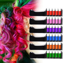 6 Colors Temporary Hair Color Chalk Set