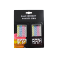 Various Color Sprial Birthday Candles