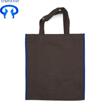 Non-woven bag flat pocket advertising shopping bag
