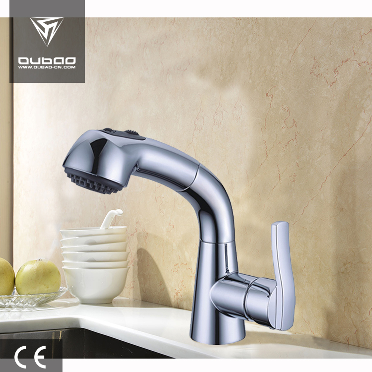Rotating Brass Kitchen Tap